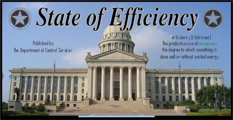 State of Efficiency Newsletter Title Graphic