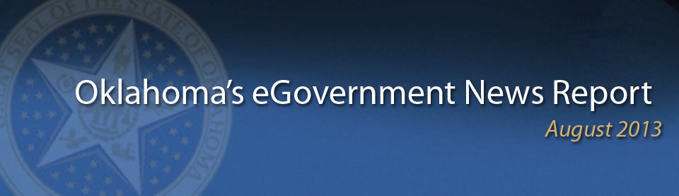 August2013 eGovernment News Report
