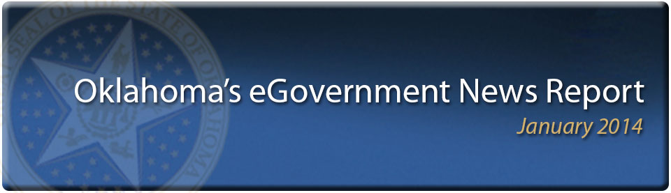 2014 January Oklahoma eGov News Report