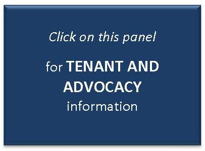 Click on this panel for Tenant information