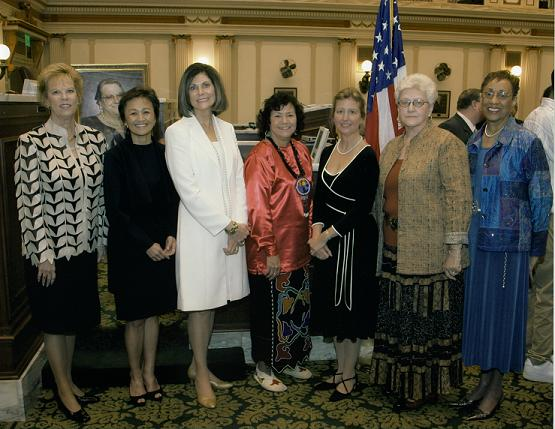 Picture of the 2007 WHOF award recipients