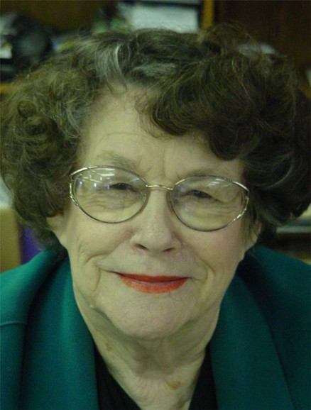 Picture of Edna Miller Hennessee 2009 WHOF receip