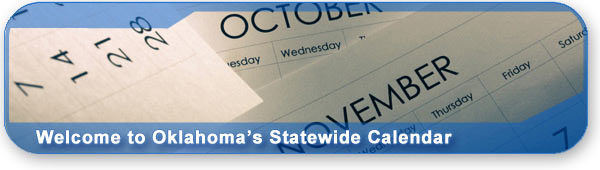 Welcome to Oklahoma's Statewide Calendar