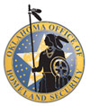 Homeland Security, Oklahoma Office of - OKOHS logo