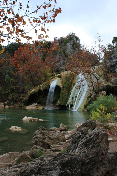Turner Falls In The Fall