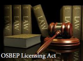 OSBEP Licensing Act
