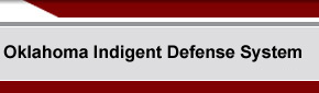 Oklahoma Indigent Defense System - Home