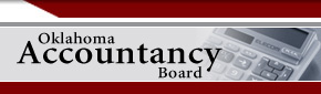 Oklahoma Accountancy Board - Home