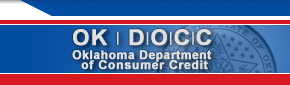Oklahoma Department of Consumer Credit - Home