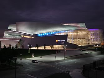 BOK Arena at Night