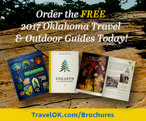 Order the free 2017 Oklahoma Travel & Outdoor Guides Today!