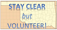 Stay Clear but Volunteer!  Stop self-deployment